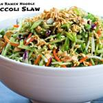 ASIAN RAMEN NOODLE BROCCOLI SLAW