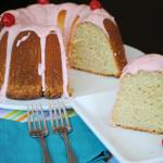 CHERRY MARGARITA POUND CAKE