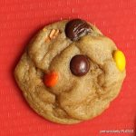 SOFT BAKED REESES PIECES CHOCOLATE CHIPS COOKIES