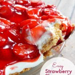 Strawberry Shortcake Pie