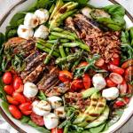 GRILLED CAPRESE CHICKEN SALAD