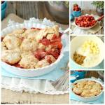 STRAWBERRY COBBLER