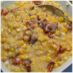 SWEET CREAMED BACON CORN