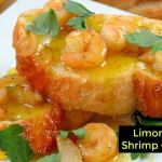 LIMONCELLO SHRIMP CROSTINI