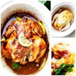 CROCK POT HONEY LEMON WHOLE CHICKEN
