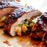 CHEDDAR STUFFED PORK TENDERLOIN