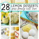 LEMON DESSERT RECIPES