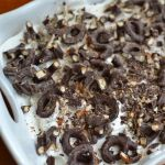 CHOCOLATE PRETZEL LUSH CAKE