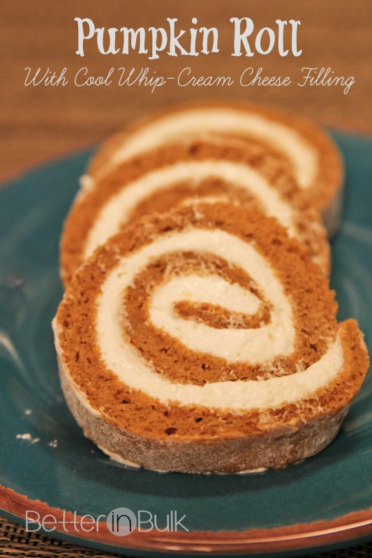 Pumpkin-Roll-With-Cool-Whip-Cream-Cheese-Filling