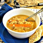 FAMILY FAVORITE CROCK POT CHICKEN BARLEY BEAN SOUP