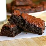 BROWNED BUTTER BROWNIES