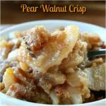 PEAR WALNUT CRISP