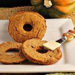 LOW CARB PUMPKIN BAGEL