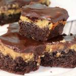 PEANUT BUTTER CHOCOLATE OOEY GOOEY BARS