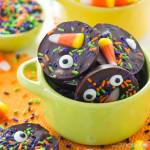 HALLOWEEN CANDY CORN SPRINKLE BITES