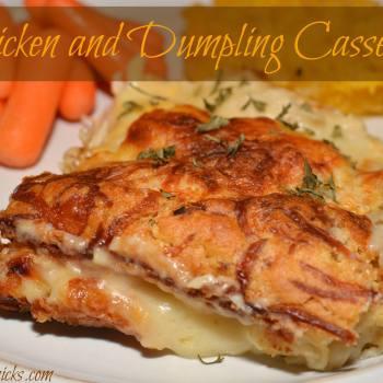 Chicken and Dumplings Casseroles