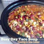 BUSY DAY TACO SOUP