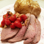 TOMATO GARLIC ROAST BEEF