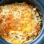 ULTRA CREAMY MAC AND CHEESE IN THE SLOW COOKER