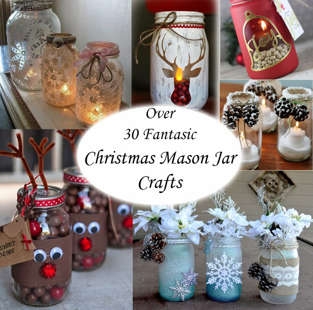 mason jars 1024x1013 - Christmas Jar Decorations