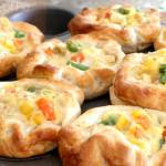 CHICKEN POT PIE PUFFS