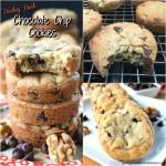HOCKEY PUCK CHOCOLATE CHIP COOKIES