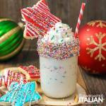EXTREME SPRINKLE SUGAR COOKIE MILKSHAKE