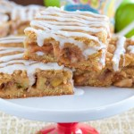 SNICKERDOODLE APPLE PIE BARS