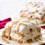 Peanut Butter and Banana Icebox Cake