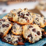 Almond Joy Cookies ~ Just 4 Ingredients