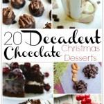 20 DECADENT CHOCOLATE CHRISTMAS DESSERTS