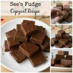 SEE'S FUDGE COPYCAT RECIPE