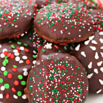 TRIPLE CHOCOLATE SUGAR COOKIES