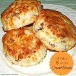 CHEESY BACON CREAM BISCUITS