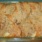 OVERNIGHT BAKED FRENCH TOAST CASSEROLE