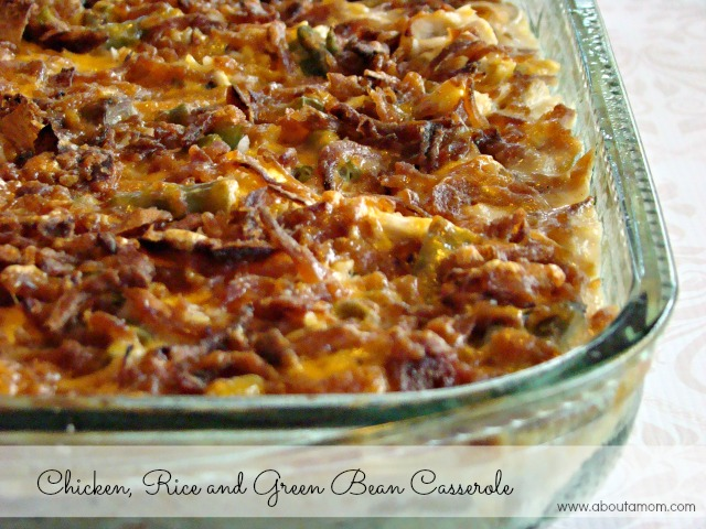 chicken-rice-and-green-bean-casserole