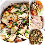 SLOW COOKER COQ AU VIN ( CHICKEN IN WINE )