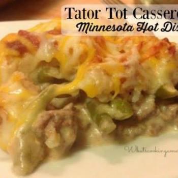 HOT DISH TATER TOT CASSEROLE