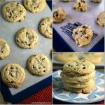 SOFT BAKED PEANUT BUTTER CHOCOLATE CHIP COOKIES