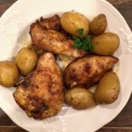 Roasted Seasoned Chicken Breast and New Potatoes