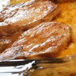 PORK CHOP AND HASHBROWN CASSEROLE