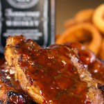 JACK DANIELS DOUBLE KICK PORK CHOPS