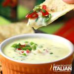 Spicy Queso Blanco Applebee's Copycat