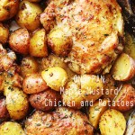 One Pan Maple Mustard Chicken and Potatoes
