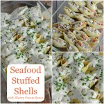 Seafood Stuffed Shells