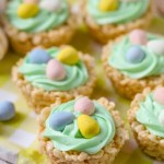 Rice Krispy Easter Cups