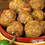 Jalapeño Popper Meatballs