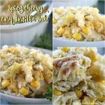 Spicy Cheesy Corn Tortilla Bake