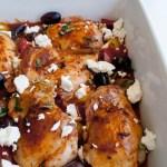 Greek Style Chicken Thighs