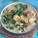 Slow Cooker Tortellini Soup
